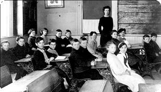 Class Picture, Hilton School